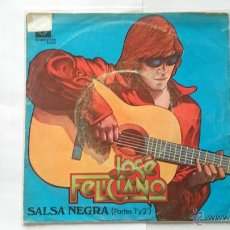 Discos de vinil: JOSE FELICIANO - SALSA NEGRA (PART. 1) / SALSA NEGRA (CONCLUSION) (1976). Lote 54840625