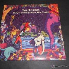 Discos de vinilo: LA UNION - PSYCHOFUNSTER AU LAIT . LP . 1993 WARNER MUSIC - FIRMADO Y DEDICADO POR ELLOS. Lote 54842475