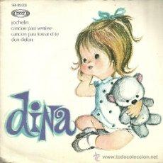 Discos de vinilo: DINA EP CANCIONES INFANTILES PORTADA DOBLE SELLO SONOPLAY AÑO 1966 EDITADO EN ESPAÑA. Lote 54844053
