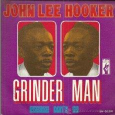 Discos de vinilo: JONH LEE HOOKER SINGLE SELLO STAX AÑO 1969 EDITADO EN ESPAÑA. Lote 54844103