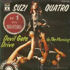 Discos de vinilo: SUZI QUATRO SINGLE SELLO EMI-ODEON. AÑO 1974 EDITADO EN ESPAÑA . Lote 54844861