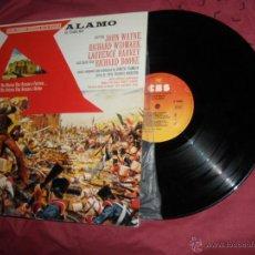 Discos de vinil: EL ALAMO LP BANDA SONORA ORIGINAL MUSICA D.TIOMKIN..WAYNE. Lote 54846603