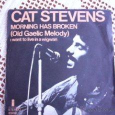 Discos de vinilo: MORNING HAS BROKEN CAT STEVENS EP 1972. Lote 54858829