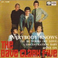Discos de vinilo: EP-THE DAVE CLARK FIVE EMI 14383 SPAIN 1967 SOLO PORTADA. Lote 54860452