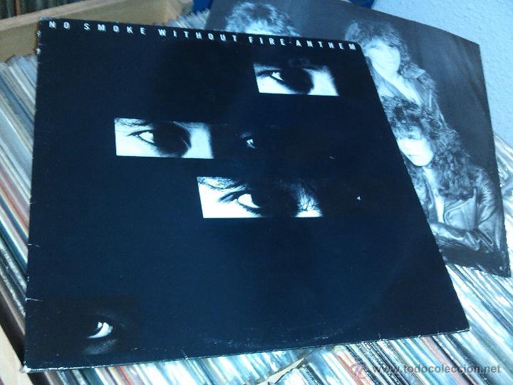 ANTHEM ?– NO SMOKE WITHOUT FIRE 1990 FRANCE (Música - Discos - LP Vinilo - Heavy - Metal)