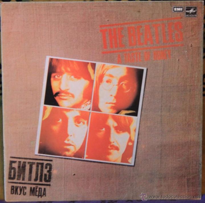 THE BEATLES - A TASTE OF HONEY - LP - EMI / LA MELODIA 1980 RUSIA (Música - Discos - LP Vinilo - Pop - Rock Internacional de los 50 y 60)