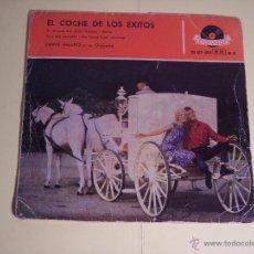 Discos de vinilo: EL COCHE DE LOS EXITOS (EN EL AZUL DEL CIELO / NENA / +2) POLYDOR-1959. Lote 54865613
