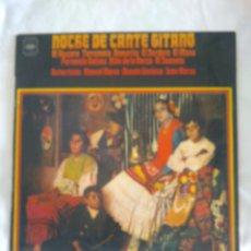 Discos de vinilo: AGUJETAS, TERREMOTO - NOCHES DEL CANTE GITANO . Lote 54870533