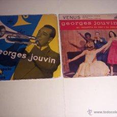 Discos de vinilo: LOTE DE 2 EP DE GEORGES JOUVIN - SU TROMPETA Y SUS RITMOS / SU TROMPETA DE ORO Y SU ORQUESTA). Lote 54873773