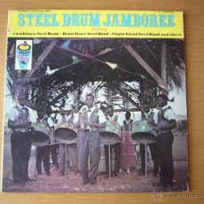 Discos de vinilo: CASABLANCA STEEL BAND LP NM ORIG USA BRUTE VIRGIN LATIN FOLK COUNTRY CALYPSO CARIBBEAN. Lote 54874296