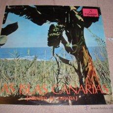 Discos de vinilo: LAS ISLAS CANARIAS - TESORO DE ESPAÑA . Lote 54877775