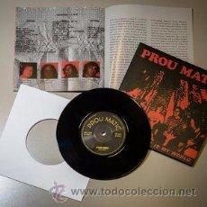 Discos de vinilo: PROU MATIC - IT IS MY WORLD/PARA PA PA (MADMUA, MAD001,7'', SINGLE, LIMITADO, NUMERADO RE, 2016). Lote 80179557
