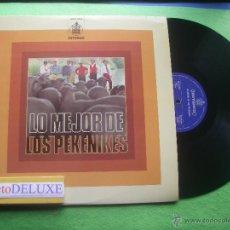 Discos de vinilo: LOS PEKENIKES LO MEJOR DE LOS PEKENIK. LP SPAIN 1976 PDELUXE. Lote 54880139