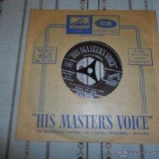 Discos de vinilo: HIS MASTERS VOICE. Lote 54882472