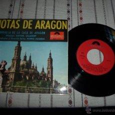 Discos de vinilo: JOTAS DE ARAGON. Lote 54882510