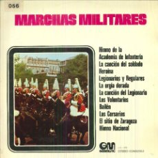 Discos de vinilo: MARCHAS MILITARES. . Lote 54884031