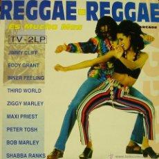 Discos de vinilo: REGGAE REGGAE-JIMMY CLIFF + EDDY GRANT + ZIGGY MARLEY + PETER TOSH + BOB MARLEY... LP VINILO 1993 . Lote 54905436
