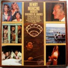 Discos de vinilo: HENRY MANCINI DIRIGE LA ORQUESTA SINFÓNICA DE LONDRES - LP RCA VICTOR 1979 BPY. Lote 54906189