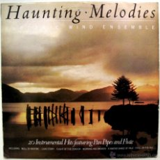 Discos de vinilo: ELECTRIC WIND ENSEMBLE - HAUNTING MELODIES - LP PDI 1984 BPY. Lote 54906294