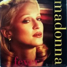 Discos de vinilo: MADONNA. FEVER (ALBUM EDIT/ RADIO MEMIX). SIRE-MAVERICK, GERMANY 1993 SINGLE. Lote 54907933