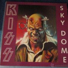 Discos de vinilo: KISS - SKY DOME - SPLATTER - LIVE BOOTLEG LP. Lote 54908105