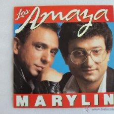Discos de vinilo: LOS AMAYA. MARYLIN, EDICION ESPAÑOLA CBS 1987. Lote 54909700