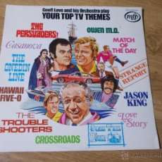 Discos de vinilo: GEOFF LOVE AND HIS ORCHESTRA. PLAY YOUR TOP TV THEMES. Lote 54909900