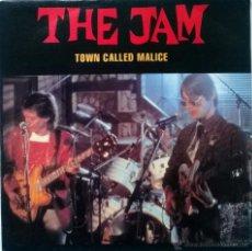 Discos de vinilo: THE JAM. TOWN CALLED MALICE (A & B). CBS, SPAIN 1991 (SINGLE PROMOCIONAL). Lote 54912165