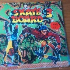 Discos de vinilo: SKATE BOARD 3 LP DOBLE. Lote 54912715