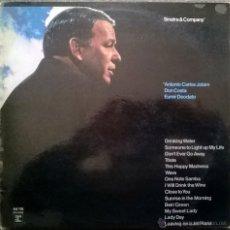 Discos de vinilo: FRANK SINATRA. SINATRA & COMPANY. REPRISE, GERMANY 1971 LP (JOBIM, COSTA, DEODATO). Lote 54913528