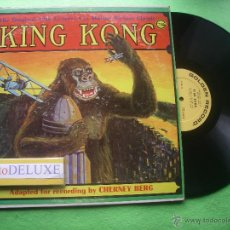 Discos de vinilo: BSO - CHERNEY BERG KING KONG LP USA PDELUXE. Lote 54914721