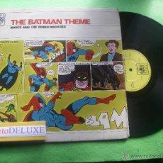 Discos de vinilo: BRUCE & THE ROBIN ROCKERS THE BATMAN THEME LP UK 1966 PDELUXE. Lote 54922802
