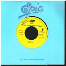 Discos de vinilo: STEVIE RAY VAUGHANT AND DOUBLE TROUBLE - EMPTH ARMS - SINGLE 1992 - PROMO - BUEN ESTADO. Lote 152179182