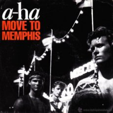 Discos de vinilo: A-HA-MOVE TO MEMPHIS + CRYING IN THE RAIN + MOVE TO MEMPHIS SINGLE VINILO 1991 (GERMANY). Lote 54925120