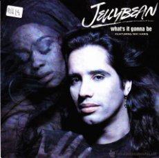 Discos de vinilo: JELLYBEAN-WHAT´S IT GONNA BE SINGLE VINILO 1990 (GERMANY). Lote 54925163