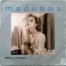 Discos de vinilo: MADONNA. LIKE A VIRGIN/ STAY. SIRE, ESP. 1984 (SINGLE PROMOCIONAL). Lote 54928405