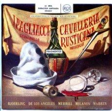 Discos de vinilo: CAALEREIA RUSTICANA (ORQUESTA RCA) RENATO CELLINI (DOBLE EP 1958). Lote 54930169