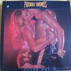 Discos de vinilo: LP - FRIENDLY ENEMIES ?– ROUND ONE (USA, PRODIGAL RECORDS 1978). Lote 54931807