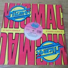 Disques de vinyle: MATERIALISTIC GIRL.. Lote 54933229