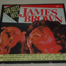 Discos de vinilo: JAMES BROWN ( GREATEST HITS JAMES BROWN ) ITALY LP33. Lote 54935331