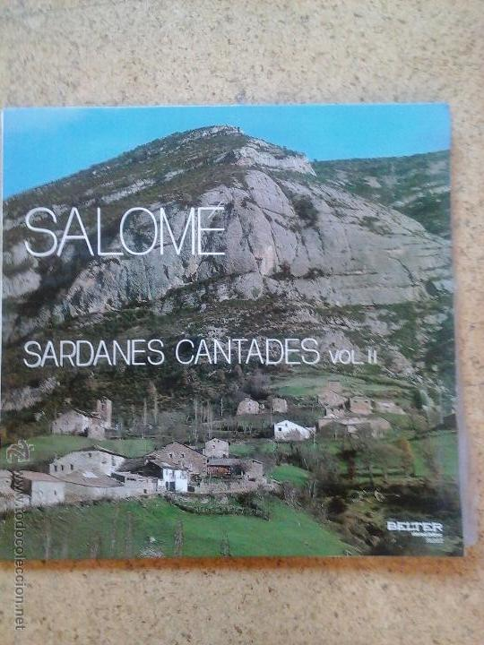 SARDANES CANTADES PER SALOME VOL. II (Música - Discos - Singles Vinilo - Clásica, Ópera, Zarzuela y Marchas)