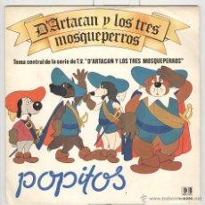 Discos de vinilo: POPITOS. D'ARTACAN Y LOS TRES MOSQUEPERROS. BELTER 1981. NUEVO. Lote 54940008
