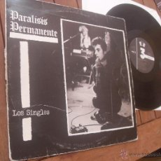 Discos de vinilo: PARALISIS PERMANENTE LP LOS SINGLES MADE IN SPAIN 1983 PUNK MOVIDA MADRILEÑA ANA CURRA. Lote 54940993
