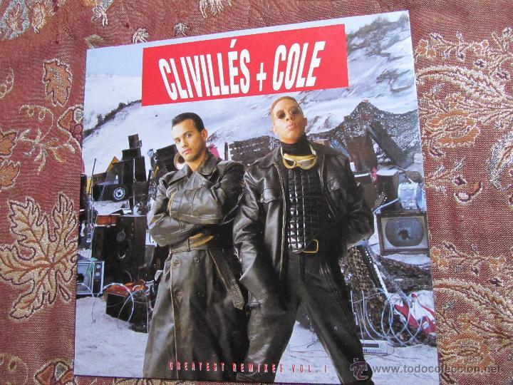 CLIVILLE'S + COLE-LP DOBLE VINILO- TITULO GREATEST REMIXES VOL-1- CON 13 TEMAS- ORIGINAL 92- NUEVO (Música - Discos - LP Vinilo - Rap / Hip Hop)