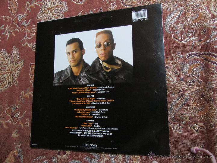 Discos de vinilo: CLIVILLES + COLE-LP DOBLE VINILO- TITULO GREATEST REMIXES VOL-1- CON 13 TEMAS- ORIGINAL 92- NUEVO - Foto 2 - 54942020