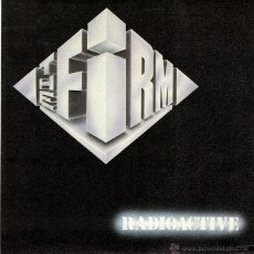Discos de vinilo: THE FIRM - RADIOCTIVE / TOGETHER (SPAIN, SINGLE 1985). Lote 54943134