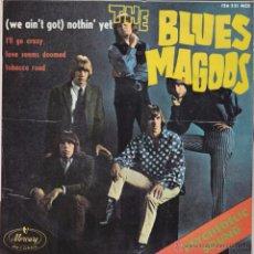 Discos de vinilo: THE BLUES MAGOOS - (WE AIN'T GOT) NOTHIN' YET - EP 7' 45RPM MONO. ED ESPAÑOLA 1967. 126 221 MCE. Lote 54944322
