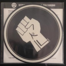 Disques de vinyle: SINGLE EP VINILO SKREWDRIVER THE WHITE POWER E.P. PICTURE DISC SA003 OI RAC SKINHEAD. Lote 189389326
