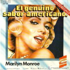 Discos de vinilo: EP 6 TEMAS SONIDO WINSTON : MARILYN MONROE + GLENN MILLER + ELVIS PRESLEY + LOUIS ARMSTRONG, ETC. Lote 54946974
