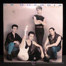 Discos de vinilo: LA GUARDIA NO SE DONDE ESTOY SINGLE VINILO 1991. Lote 54933011